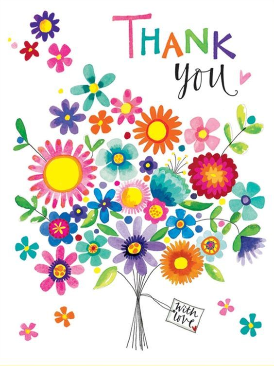 All about clipart flower. Best thank you graphics