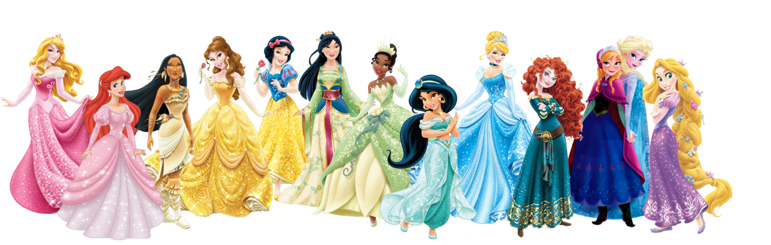 All disney characters png. Image princess lineup degrassi