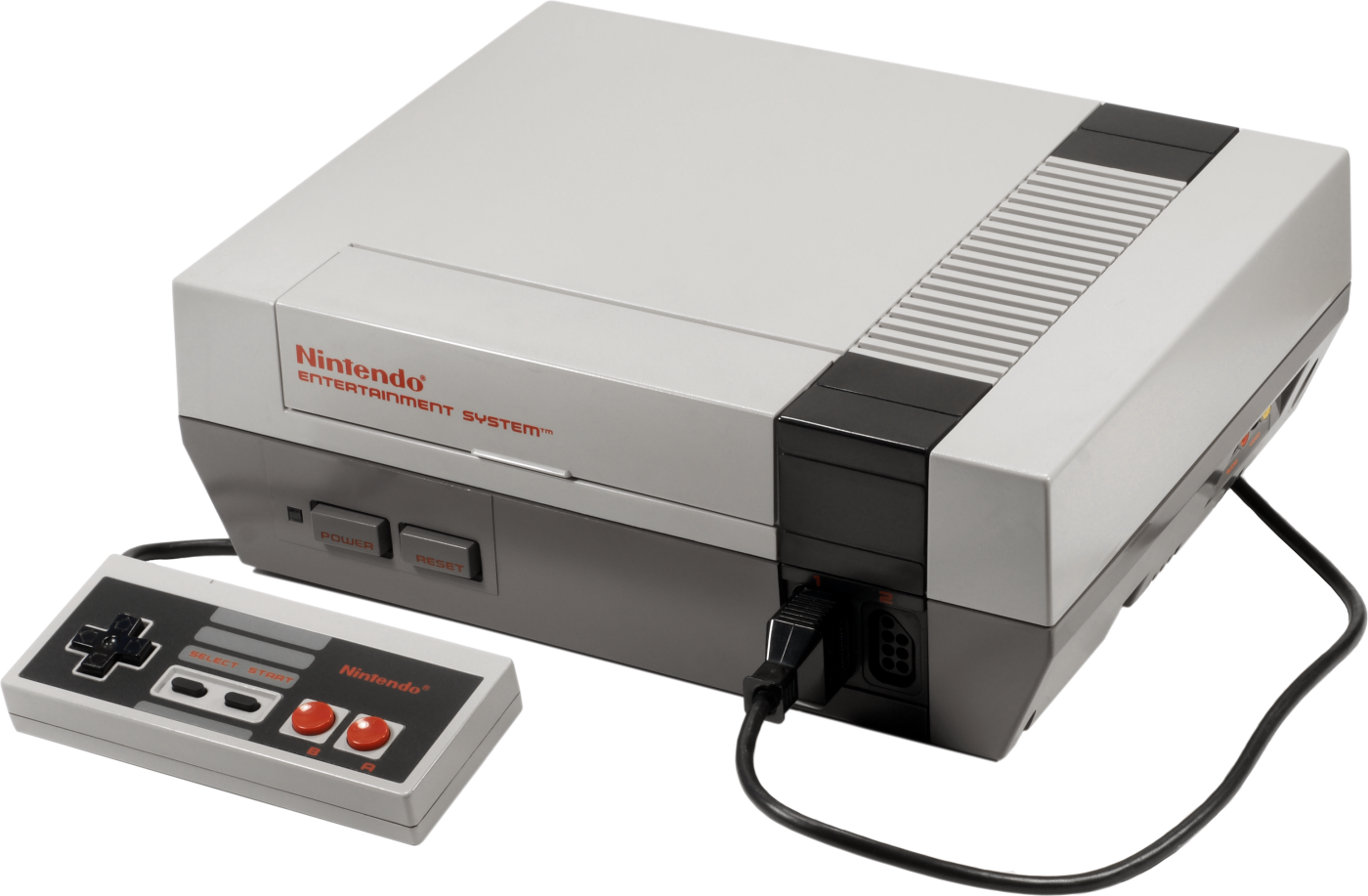 Video game console png. Image nintendo entertainment system