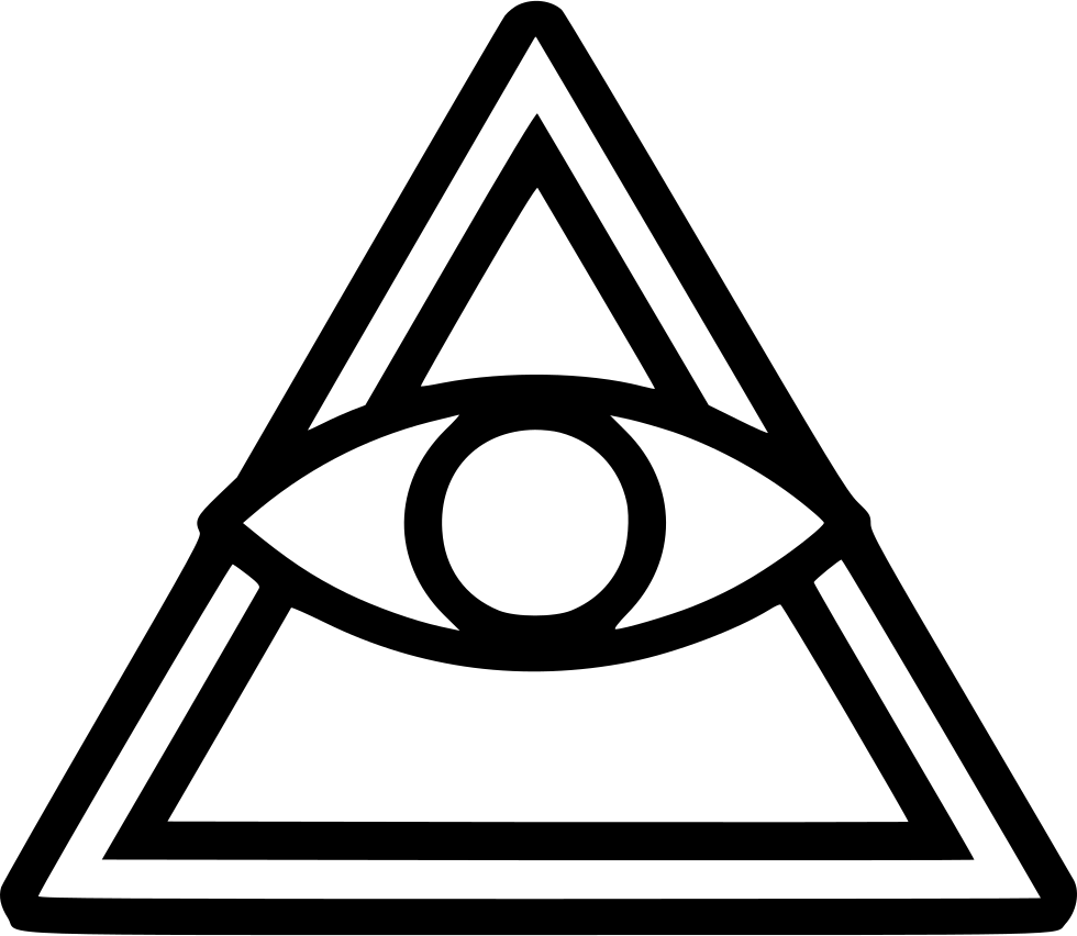 All seeing eye png. Svg icon free download