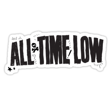 All time low logo png. Black stickers by mikayla