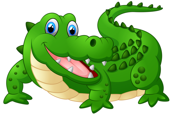 vector alligator cartoon angry