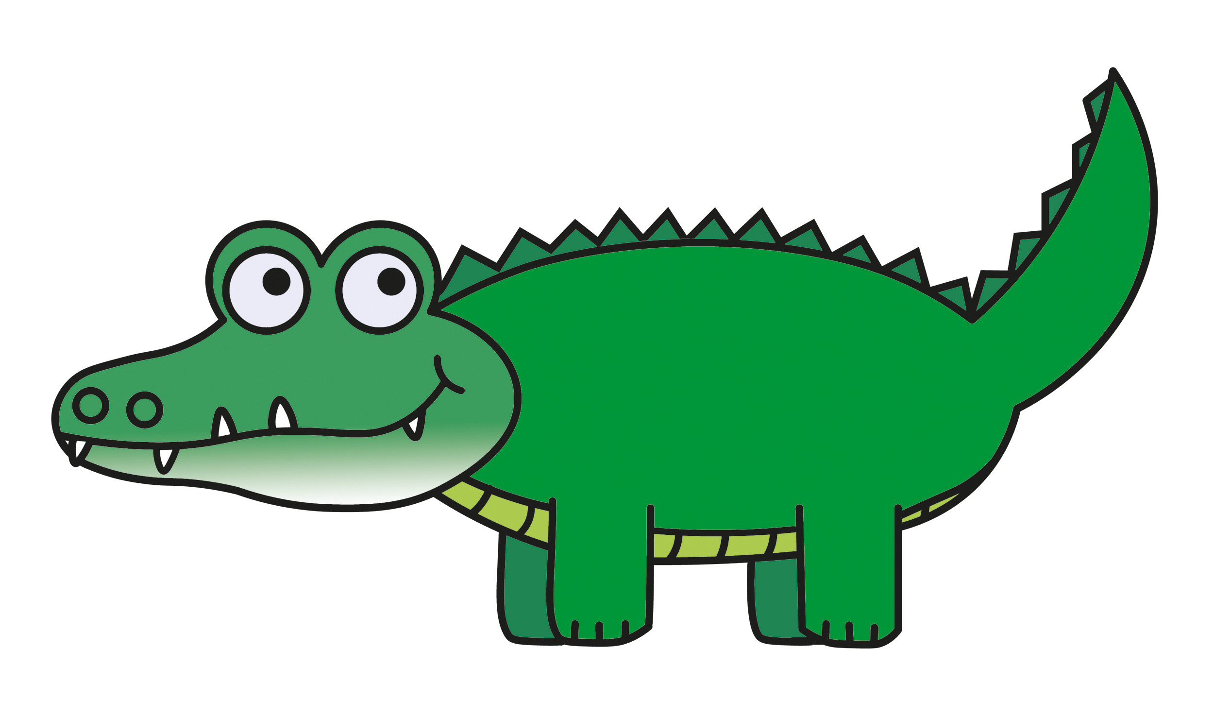 Alligator clipart adorable. Free transitionsfv panda images