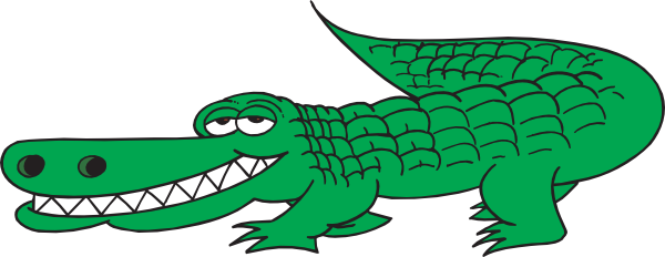 Alligator clipart png. Clipartix