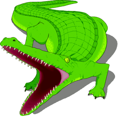 Alligator clipart png. Mart