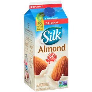 Almond milk png. Silk half gallon yocart
