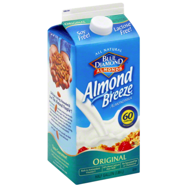 Almond milk png. Blue diamond breeze original
