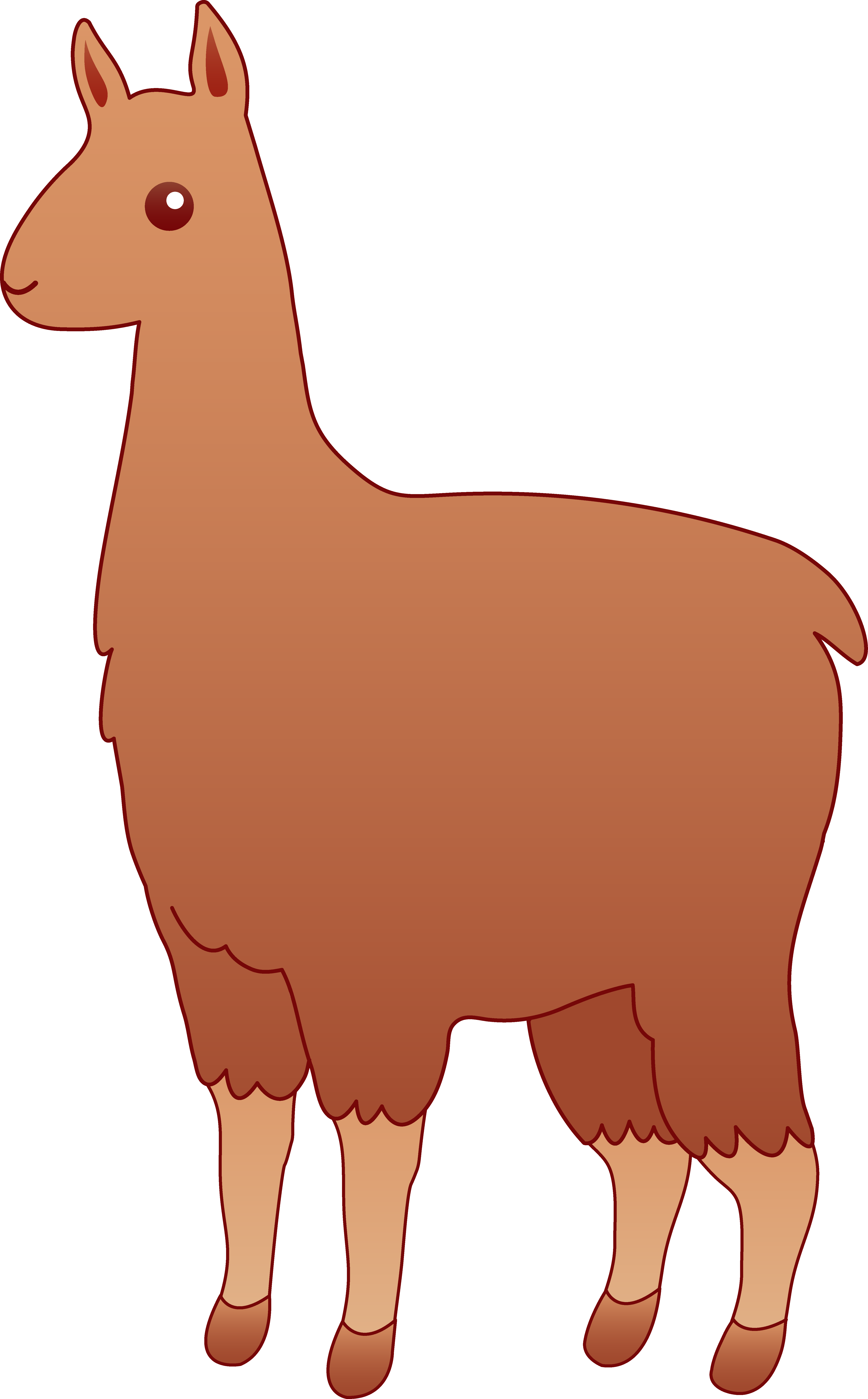Cute cartoon llama png. Alpaca clipart panda free