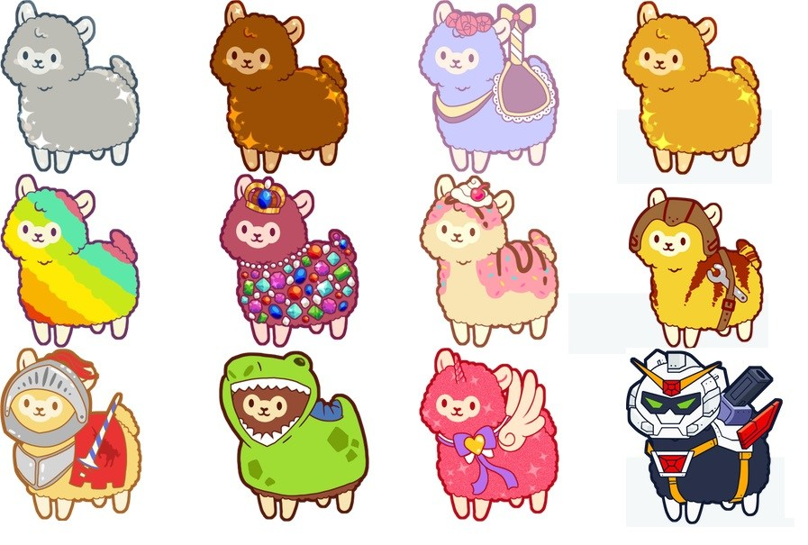 Alpaca clipart party. Fluffing adorable reviewed cliqist
