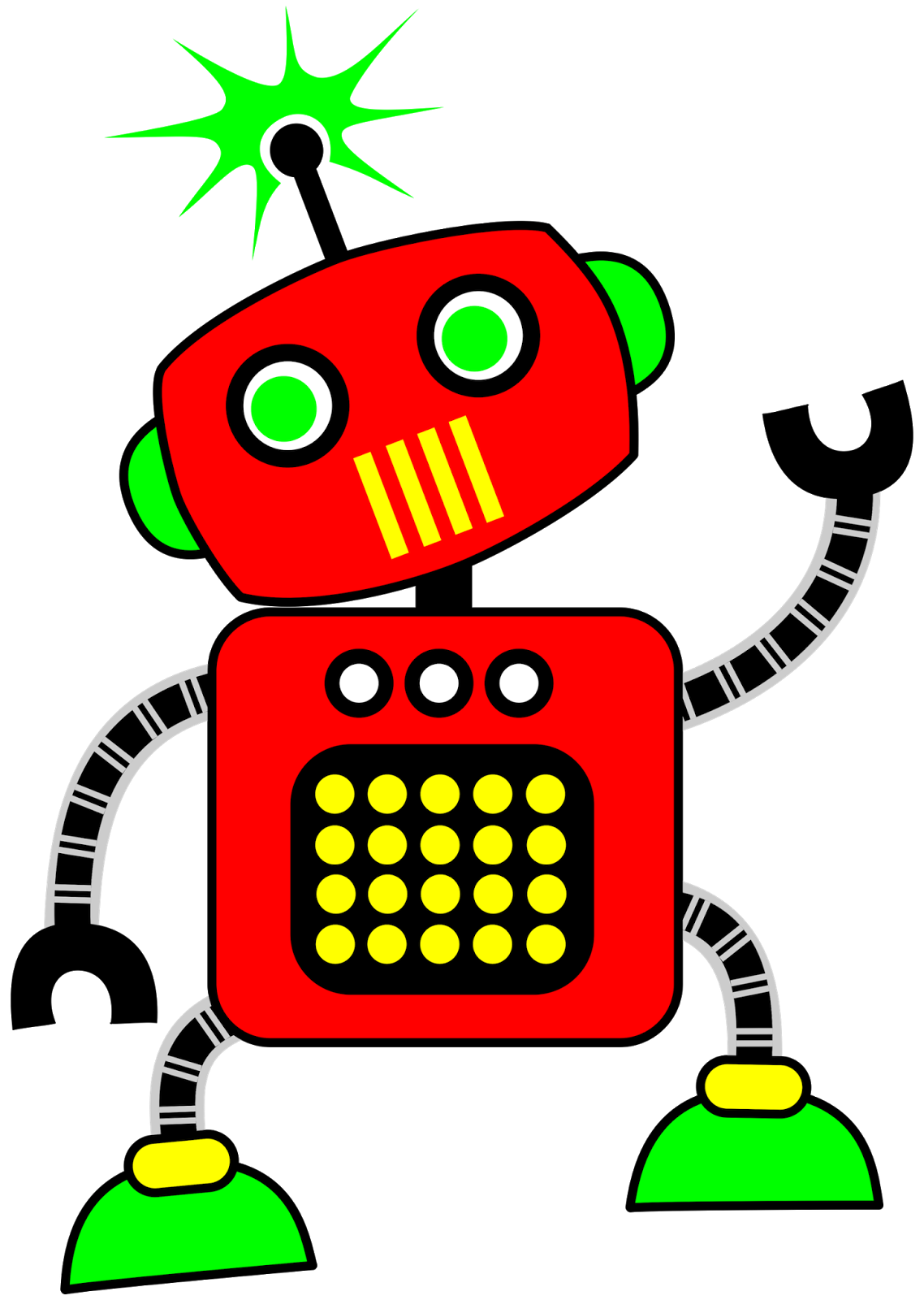 Alpaca clipart robot. Free reading red cliparts