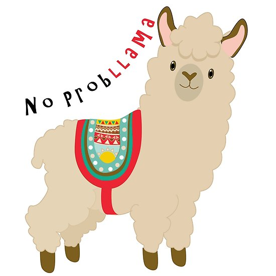 Alpaca clipart robot. Cute llama at getdrawings