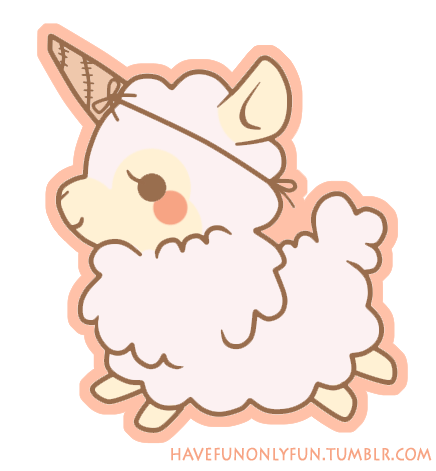 Na tumblrze discovered by. Alpaca transparent cute png free download