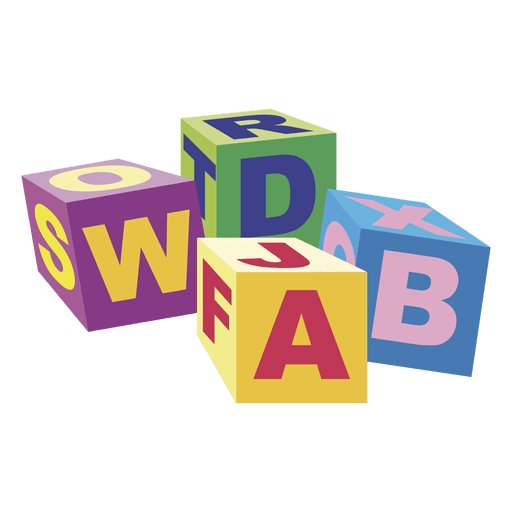 transparent blocks abc