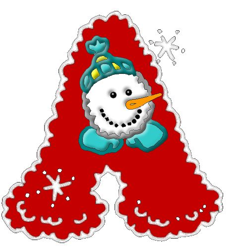 Alphabet clipart christmas. Best images on
