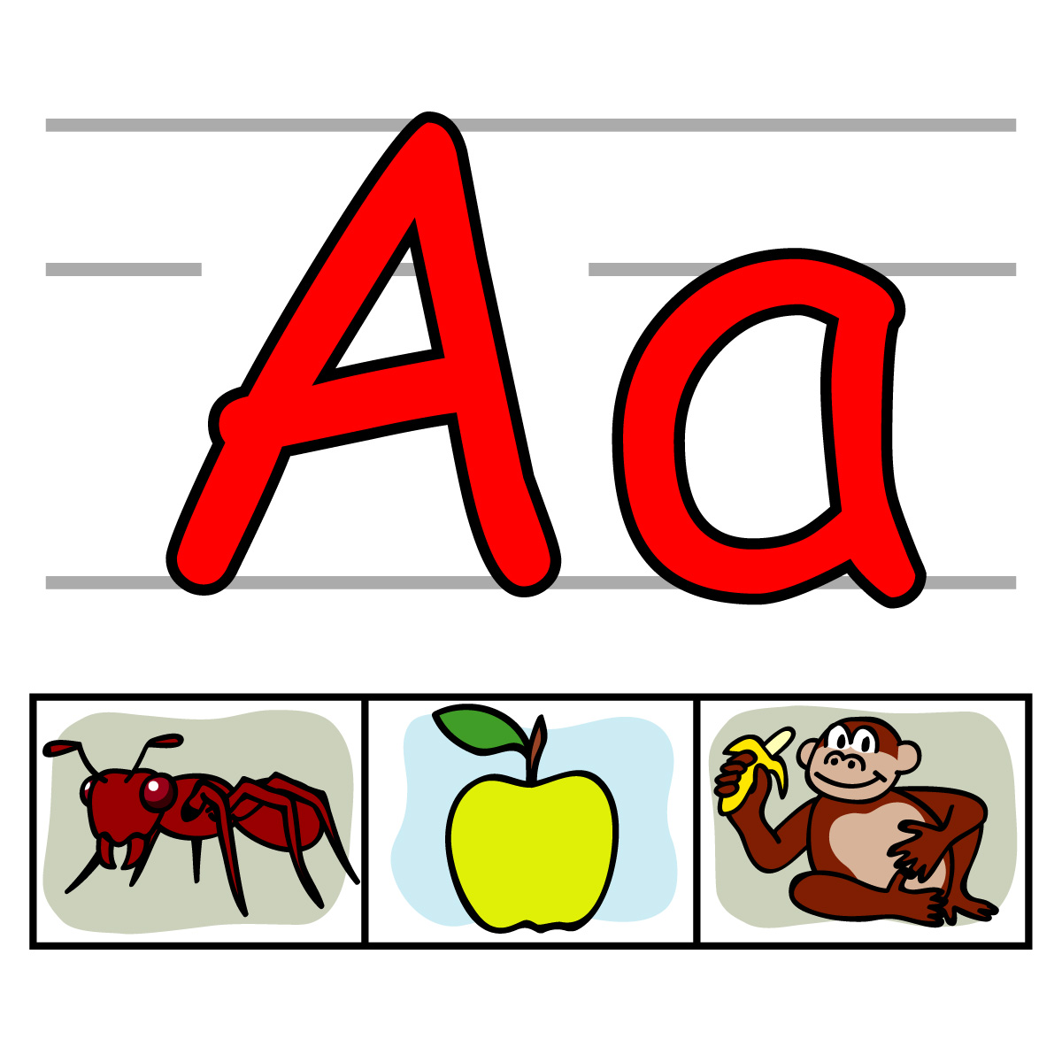 Alphabet clipart plain. Letters of the at