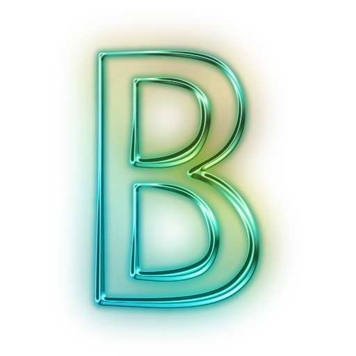 Cool letter b png. A to z alphabet