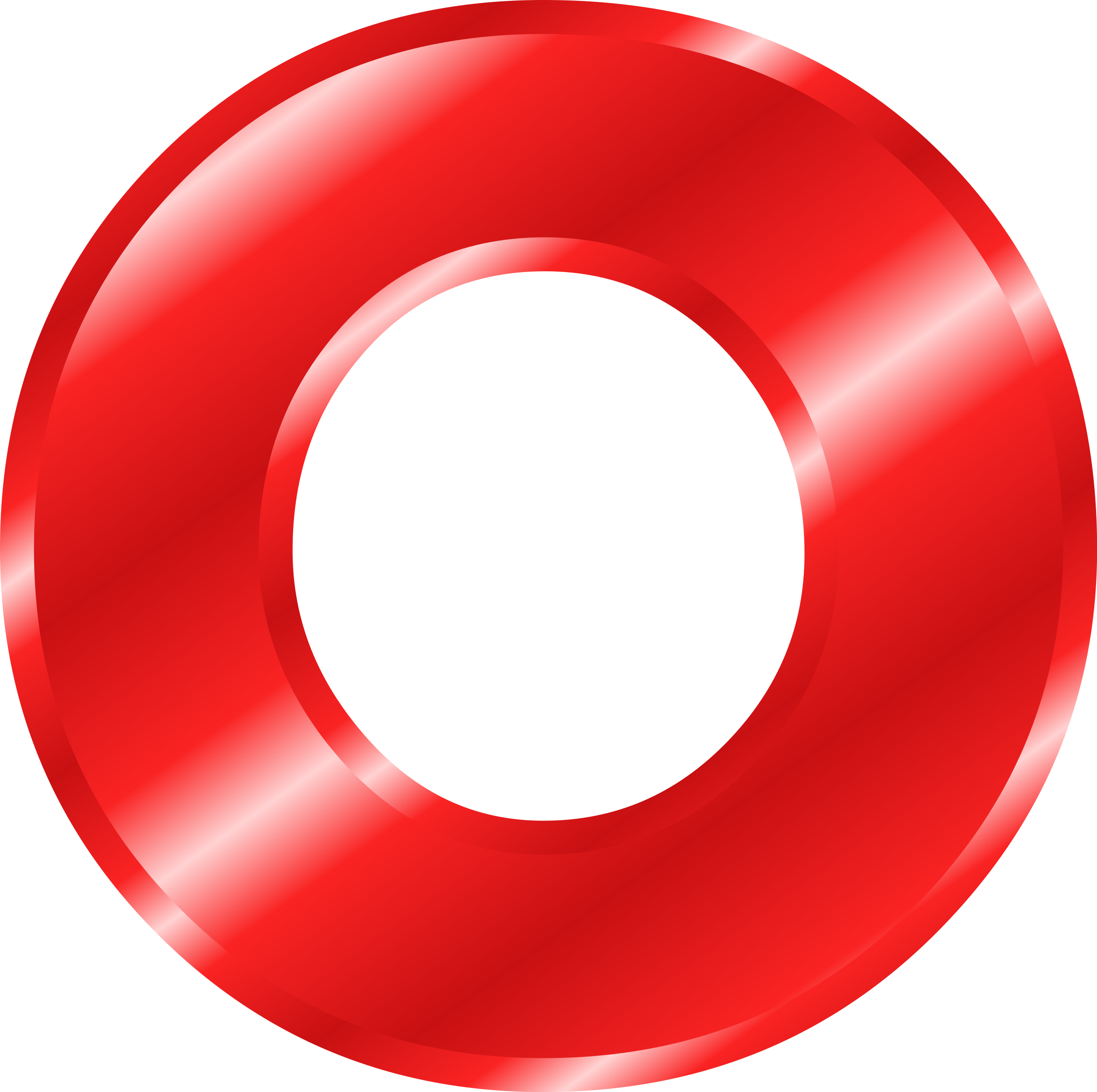Alphabet o png. Clipart effect letters red