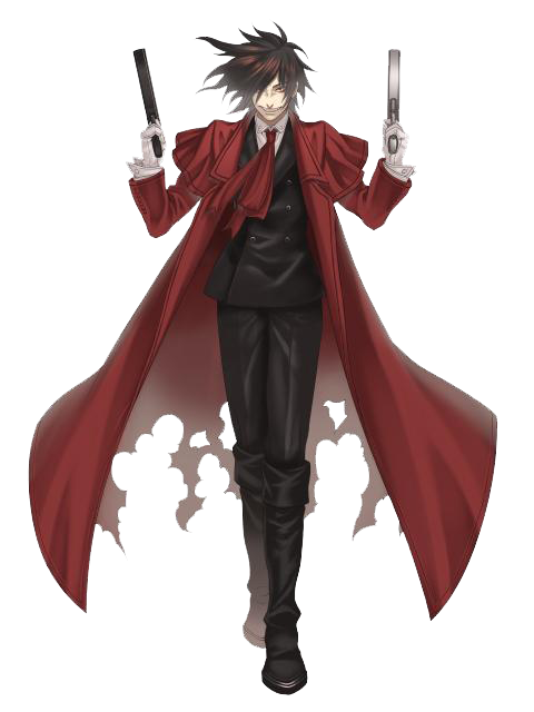 Alucard drawing chaotic. Hellsing character profile wikia