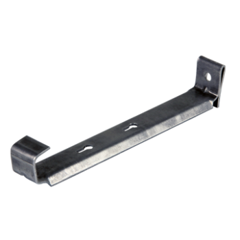 Aluminum clip. Hanger with count