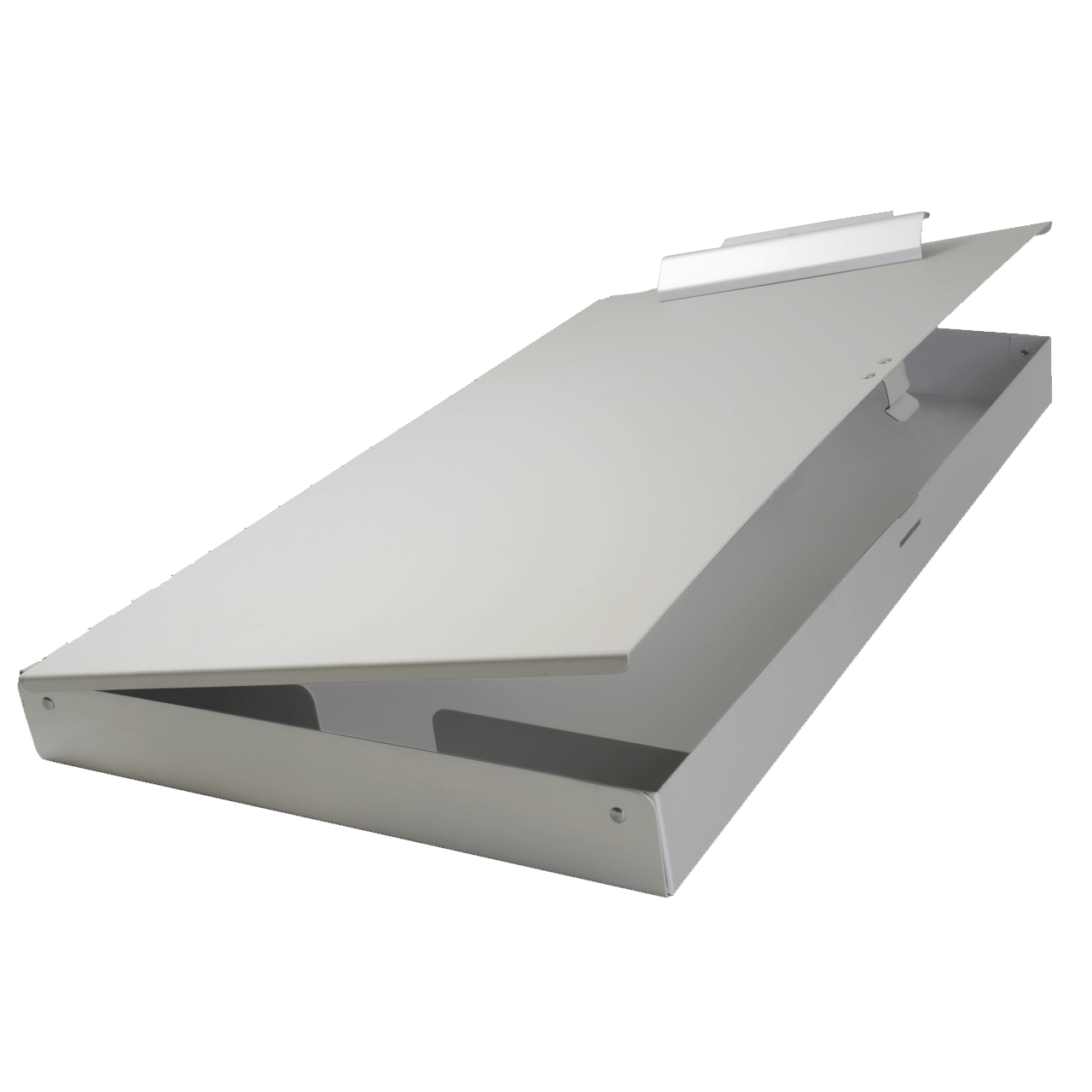 Aluminum clip flat. X clipboard with