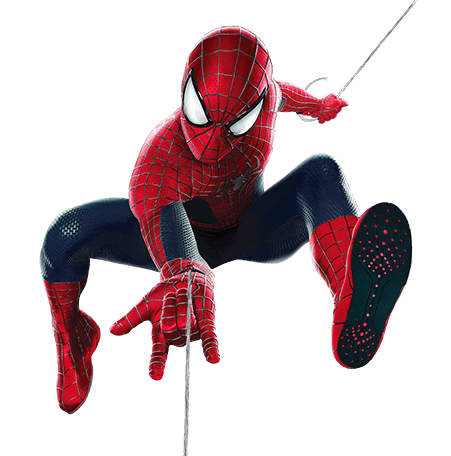 spiderman swinging png