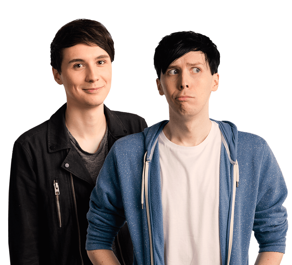 Amazingphil transparent cut out. Dan and phil high