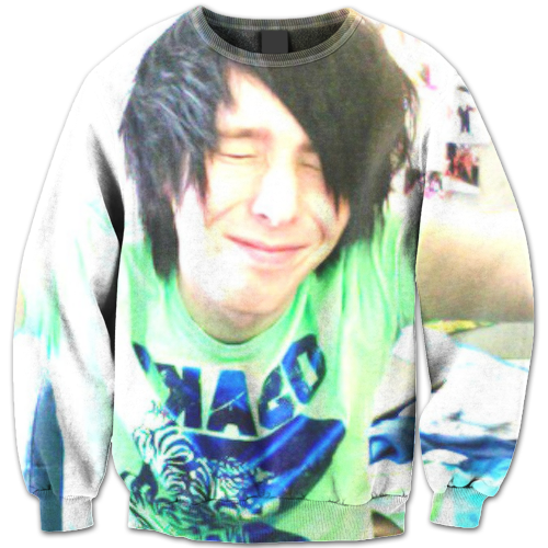Amazingphil transparent green. Merch years ago notes