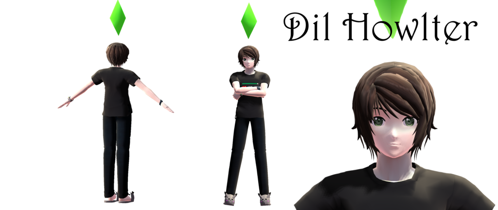 Amazingphil transparent mmd. Motme july dil howlter