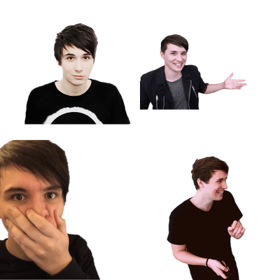 Amazingphil transparent translucent. Danisnotonfire png images stickpng