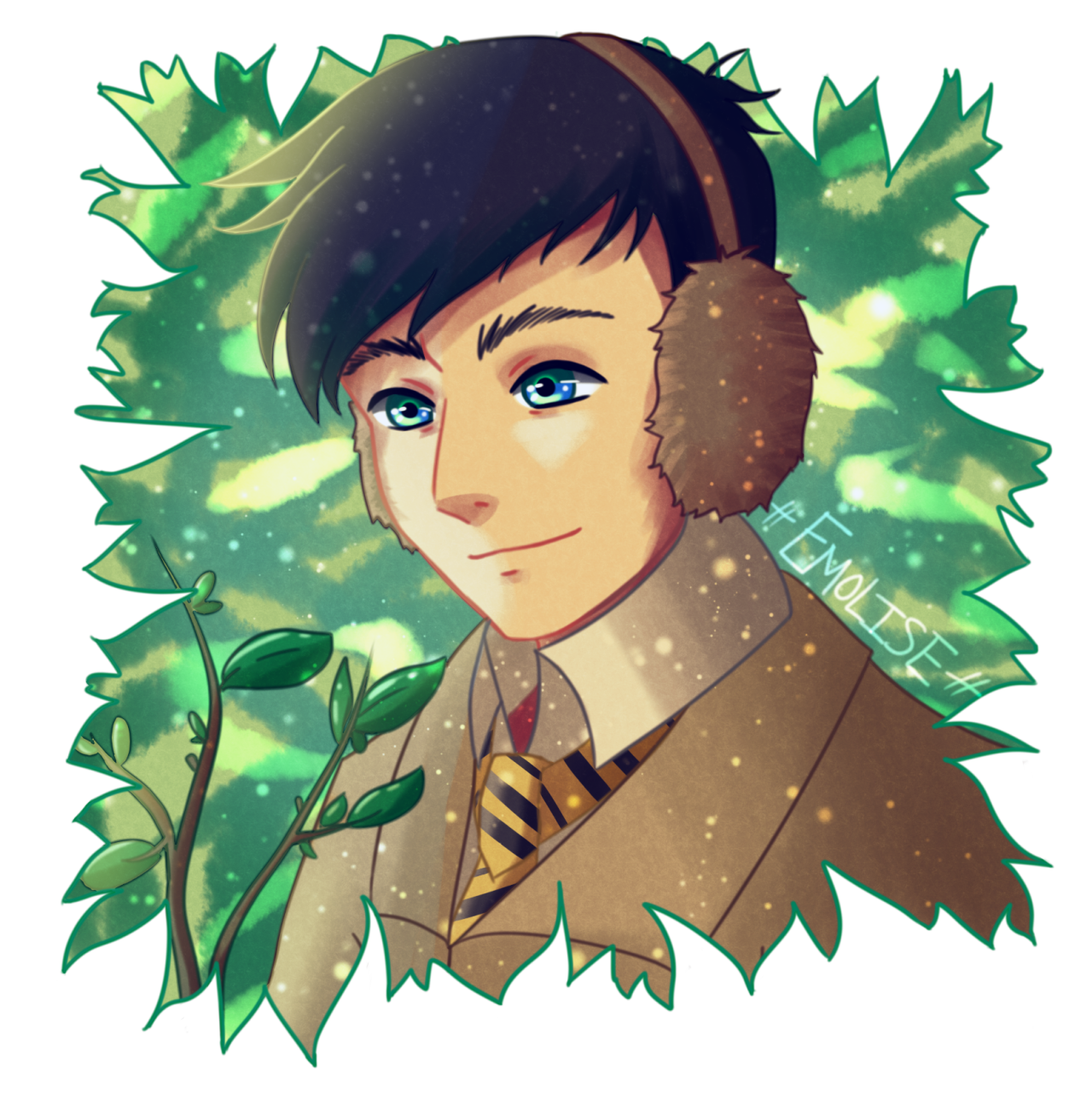 Amazingphil transparent whisker. Emolise herbology dork btw