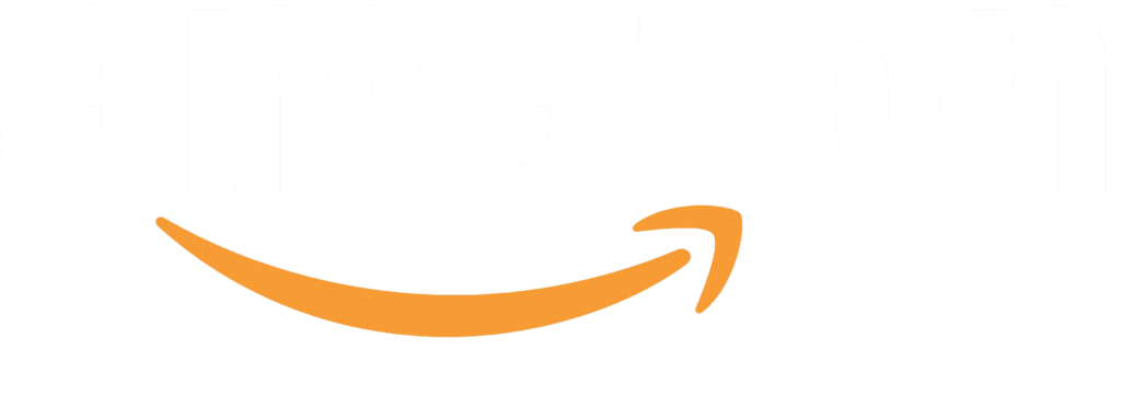 Amazon logo white png transparent. Images free download