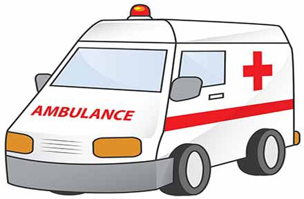 Ambulance clipart ambulance officer. Kashmir gets critical care