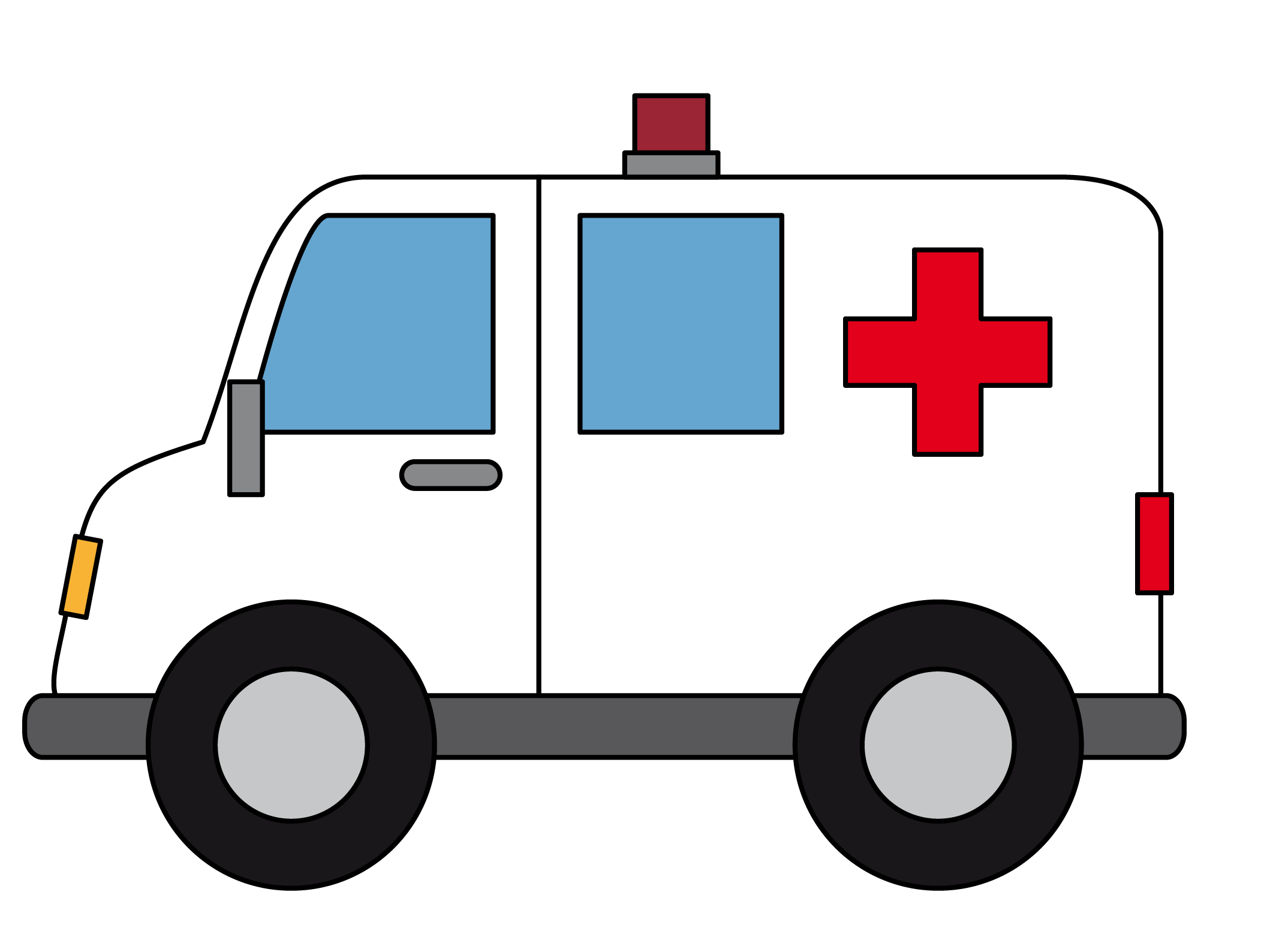 Ambulance clipart ambulance officer. Panda free images lightweightclipart