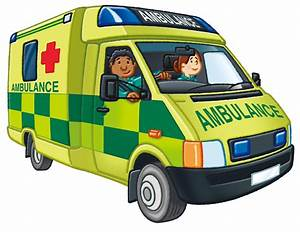 ambulance clipart green