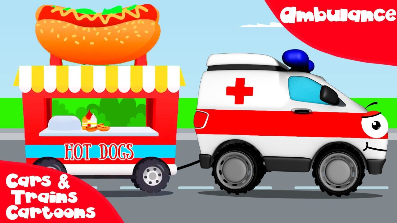 Ambulance clipart race car. White w tow truck