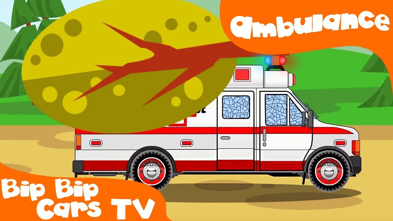 Ambulance clipart race car. In the city w