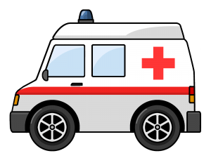Ambulance transparent. Clipart png stickpng