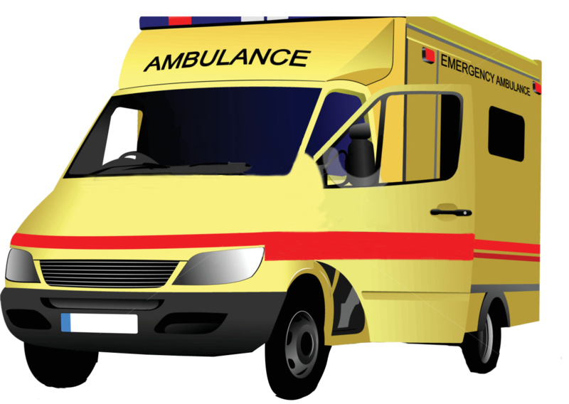 Ambulance transparent. Download free png image