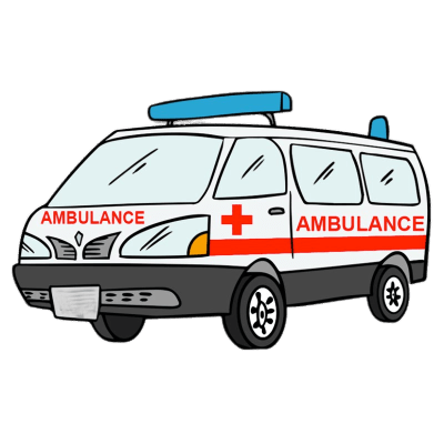 Ambulance transparent. Drawing png stickpng