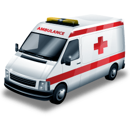 Ambulance transparent. Image png stickpng