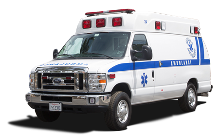 Ambulance transparent. Express san diego service
