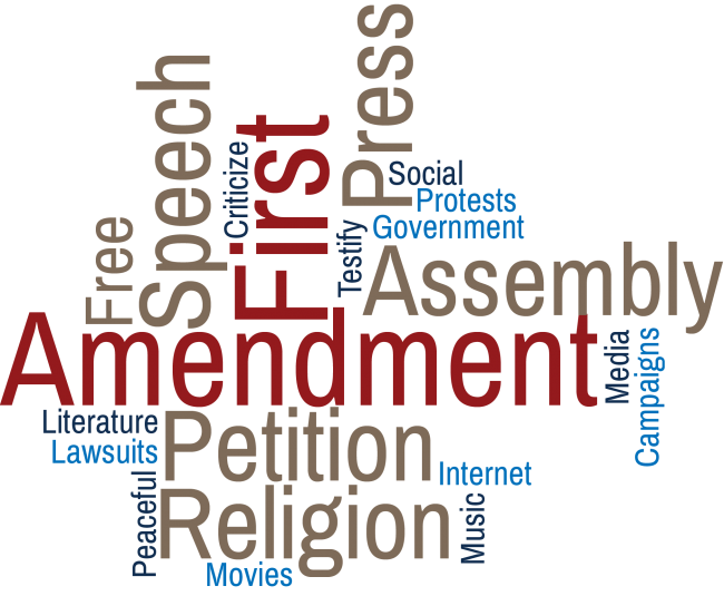 Amendment drawing freedom petition. First activities united states