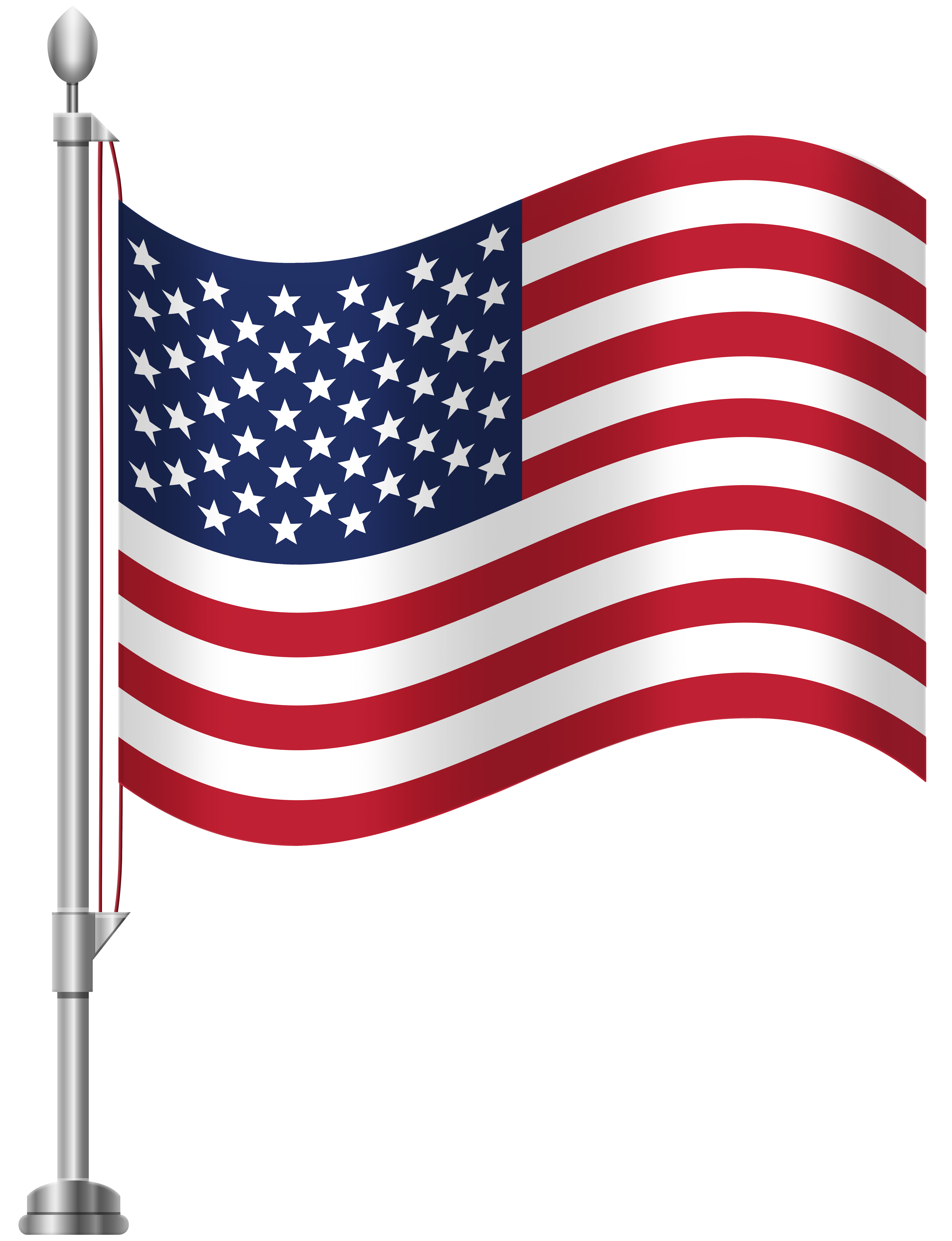 America clipart. United states of flag