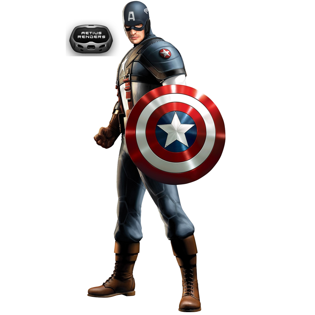 Typographic drawing captain america. Free clip download art