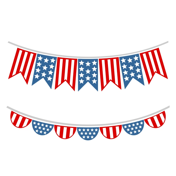 American clipart ribbon. Th of july