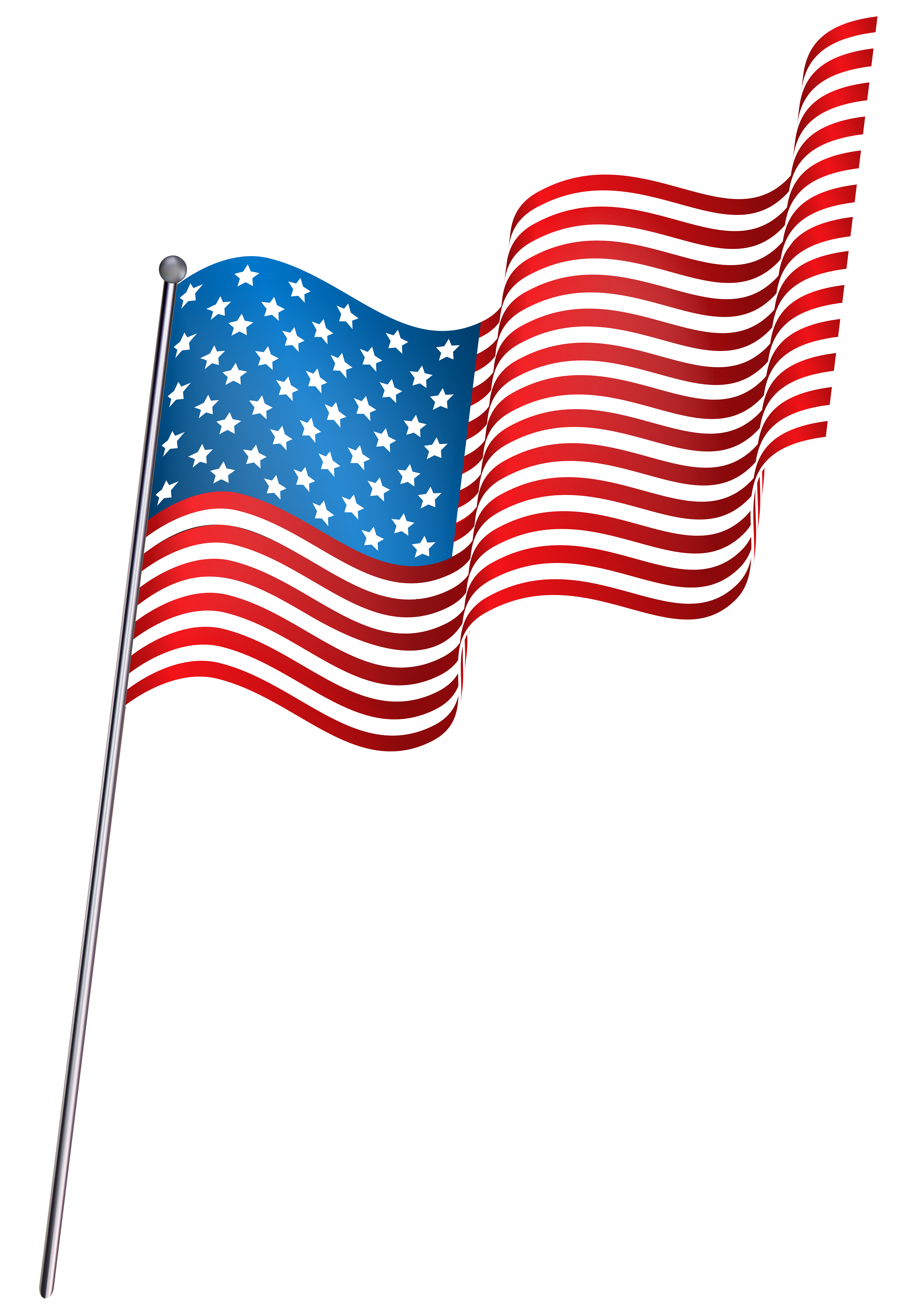 Banner flags png. American waving flag clip