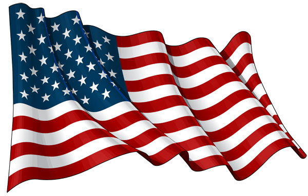 American flag png file. United states of america clip art transparent download