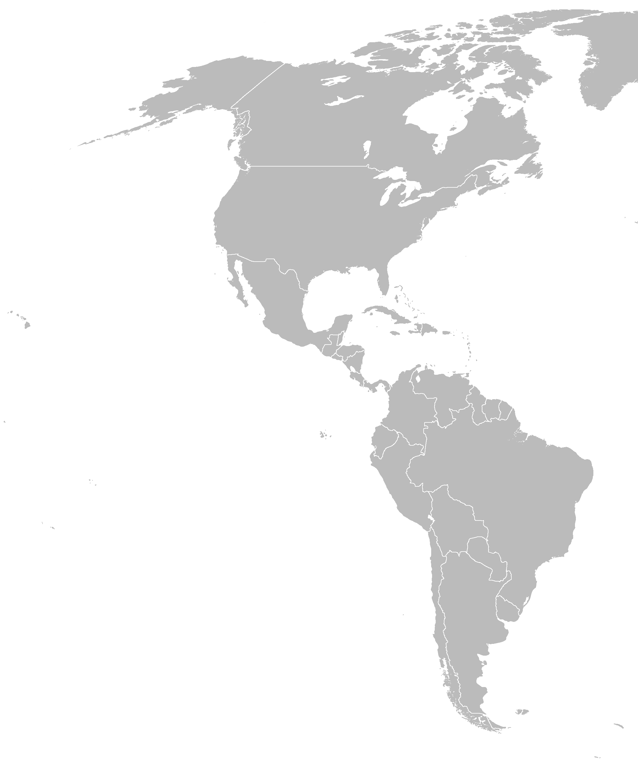 Map of america png. North all