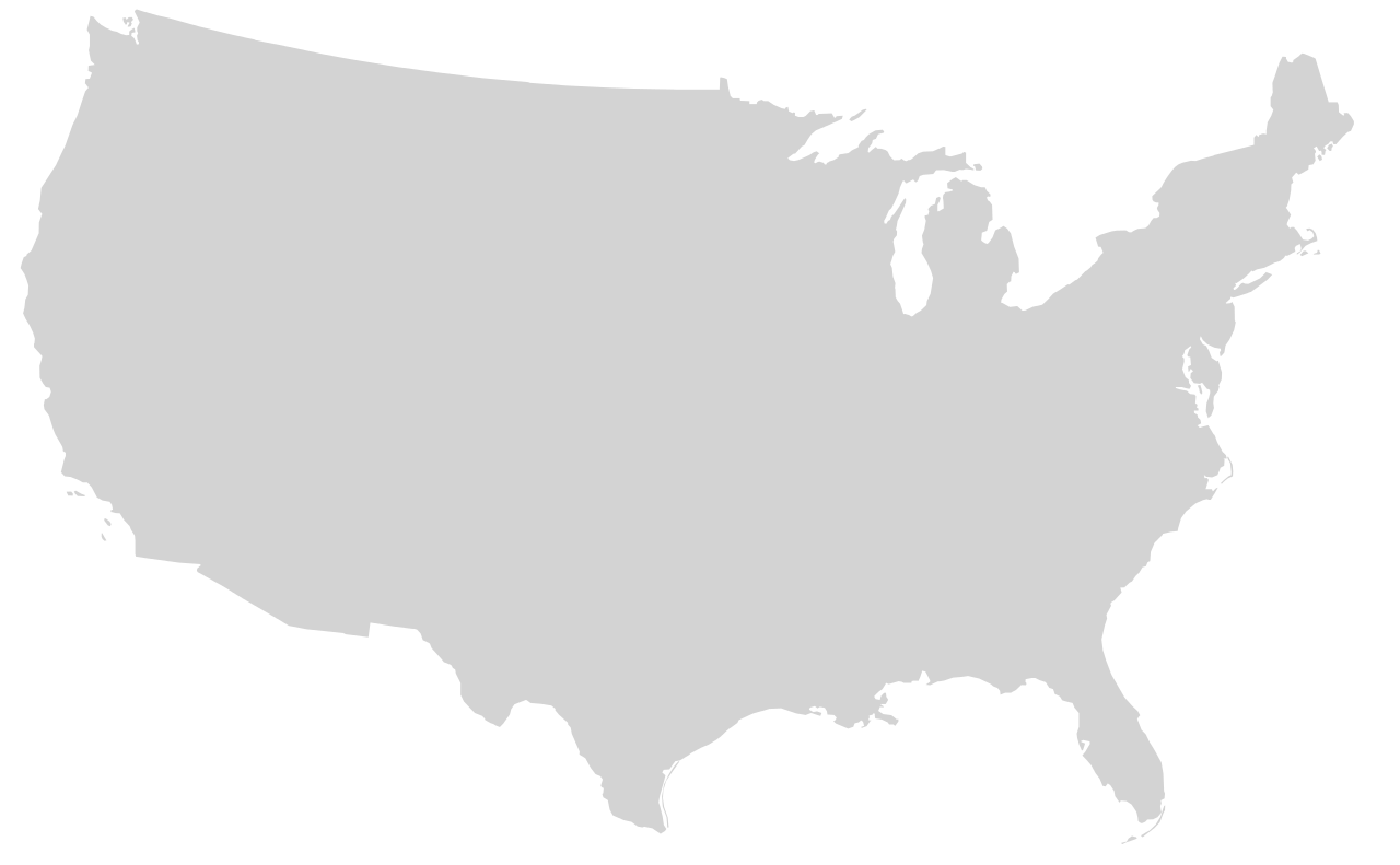 united states outline png