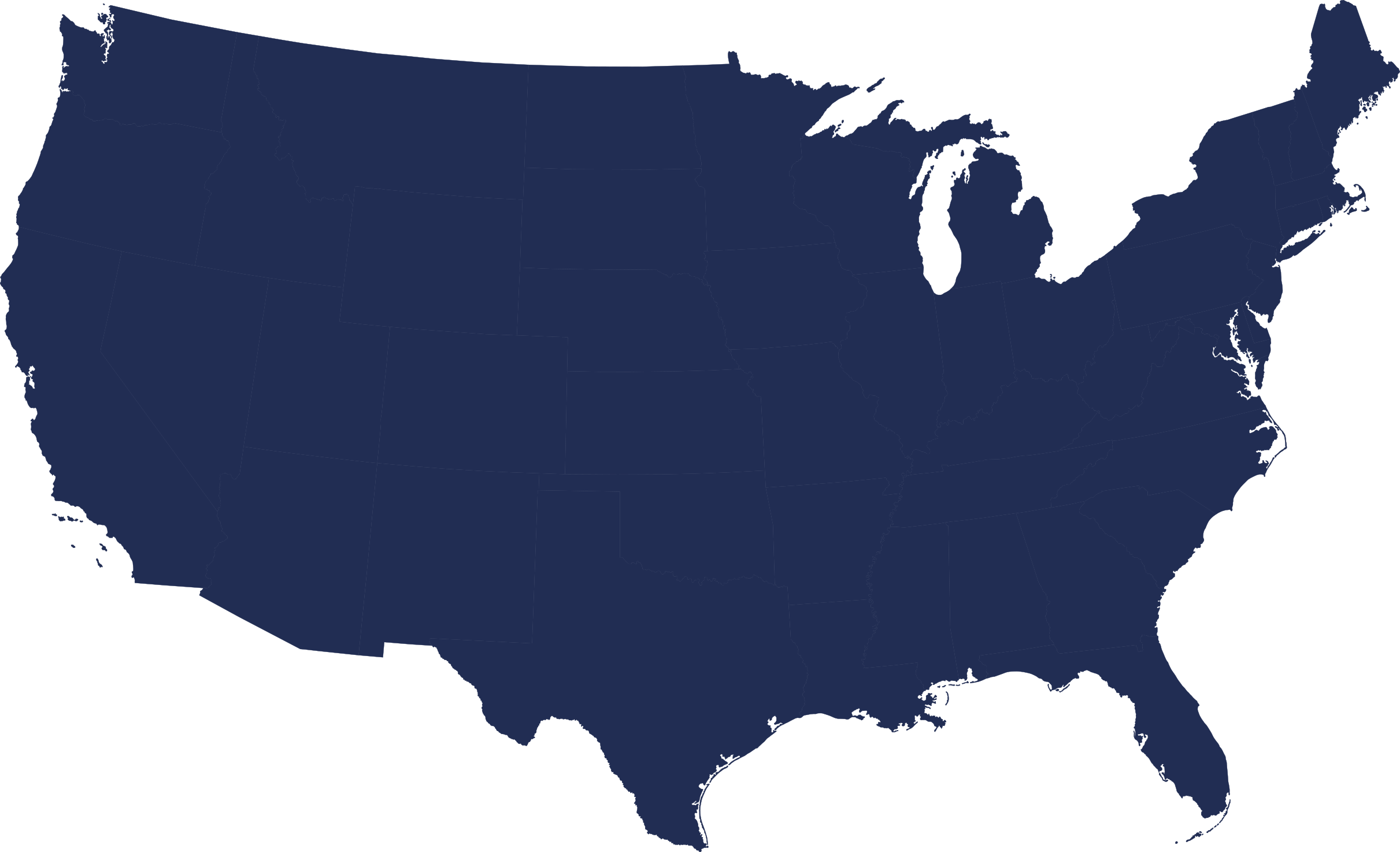 America outline png. Maps of us blue